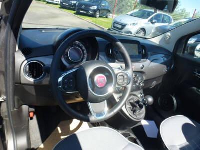 Voir la photo n°4 de la voiture d'occasion FIAT 500C SERIE 6 EURO 6D — 1.2 69 ch Lounge