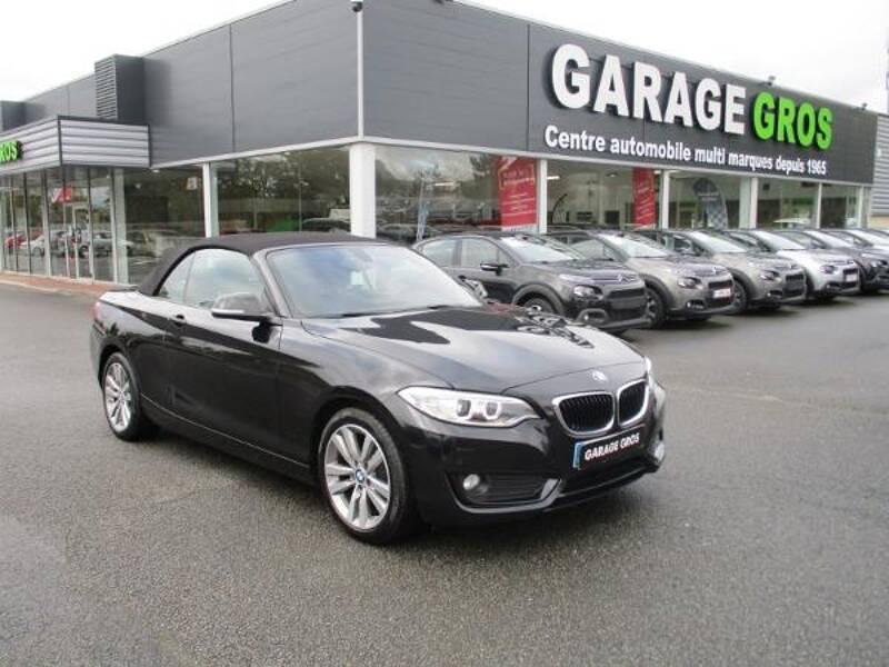 Voir la photo n°1 de la voiture d'occasion BMW SERIE 2 CABRIOLET F23 — Cabriolet 218d 150 ch Lounge A