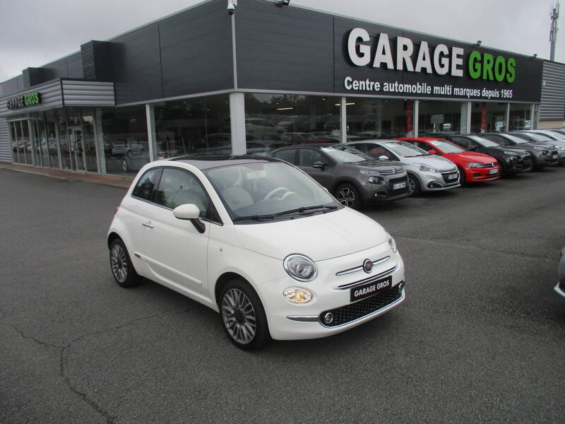 Voir la photo n°1 de la voiture d'occasion FIAT 500 MY17 — 1.2 69 ch Lounge