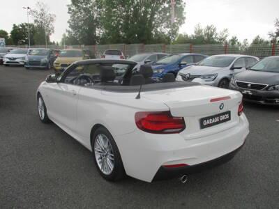 Voir la photo n°2 de la voiture d'occasion BMW SERIE 2 CABRIOLET F23 LCI2 — Cabriolet 218i 136 ch BVA8 M Sport