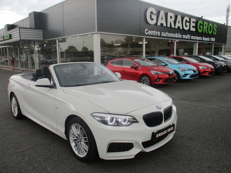 Voir la photo n°1 de la voiture d'occasion BMW SERIE 2 CABRIOLET F23 LCI2 — Cabriolet 218i 136 ch BVA8 M Sport