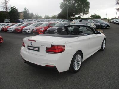 Voir la photo n°3 de la voiture d'occasion BMW SERIE 2 CABRIOLET F23 LCI2 — Cabriolet 218i 136 ch BVA8 M Sport