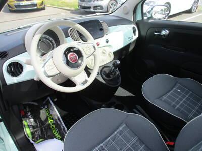 Voir la photo n°4 de la voiture 0KM FIAT 500 SERIE 8 EURO 6D-TEMP — 1.0 70 ch Hybride BSG S/S Lounge