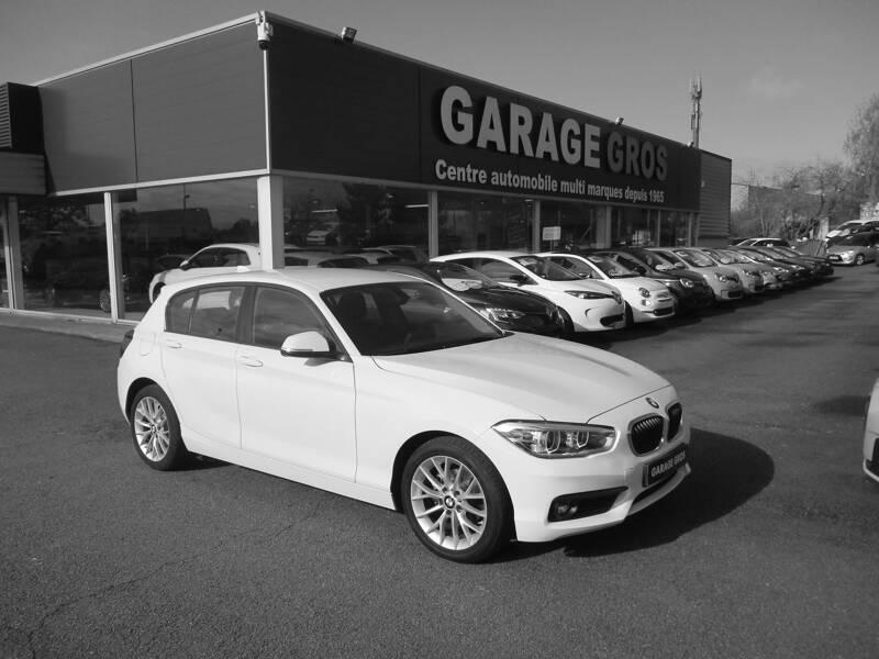 Voir la photo n°1 de la voiture d'occasion BMW SERIE 1 F20 LCI2 — 118d 150 ch BVA8 Lounge