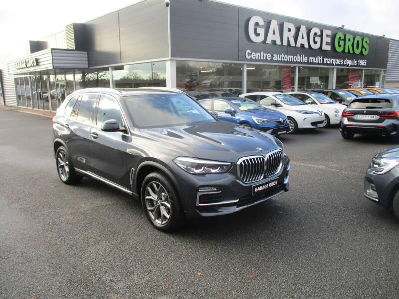 Voir la photo n°1 de la voiture d'occasion BMW X5 G05 — xDrive30d 265 ch BVA8 xLine