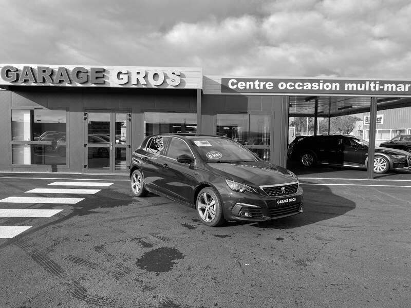 Voir la photo n°1 de la voiture 0KM PEUGEOT 308 — BlueHDi 130ch S&S EAT8 GT Line