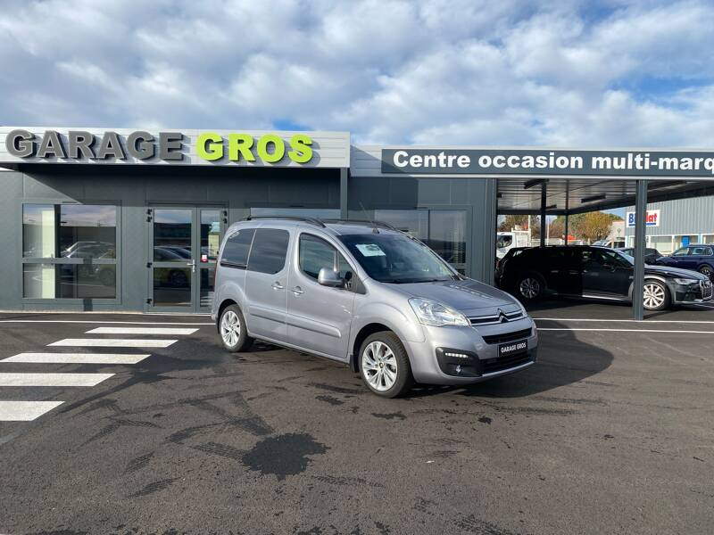 Voir la photo n°1 de la voiture d'occasion CITROEN BERLINGO MULTISPACE — BlueHDi 100 S&S BVM5 Shine