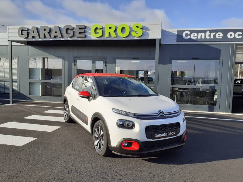 Voir la photo n°1 de la voiture d'occasion CITROEN C3 — PureTech 82 S&S BVM5 Feel