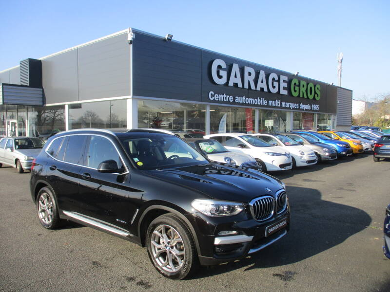 Voir la photo n°1 de la voiture d'occasion BMW X3 G01 — xDrive20d 190ch BVA8 xLine