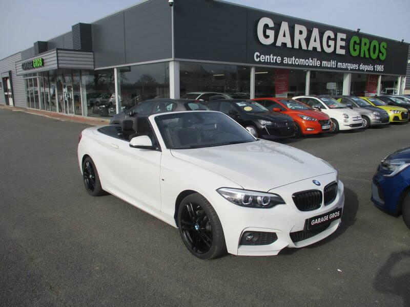 Voir la photo n°1 de la voiture d'occasion BMW SERIE 2 CABRIOLET F23 LCI2 — Cabriolet 218d 150 ch BVA8 M Sport