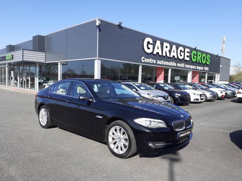 Voir la photo n°1 de la voiture d'occasion BMW SERIE 5 F10 — 520d 184ch 127g Executive A