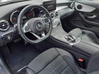 Voir la photo n°4 de la voiture d'occasion MERCEDES CLASSE C COUPE — 220 d 9G-Tronic Fascination