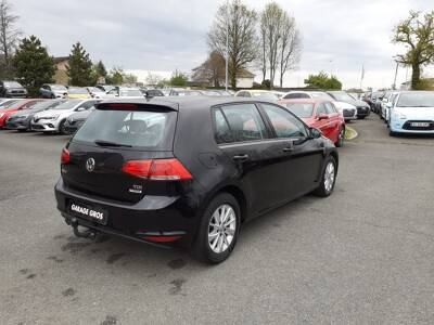 Voir la photo n°3 de la voiture d'occasion VOLKSWAGEN GOLF — 1.6 TDI 110 BlueMotion Technology FAP Trendline