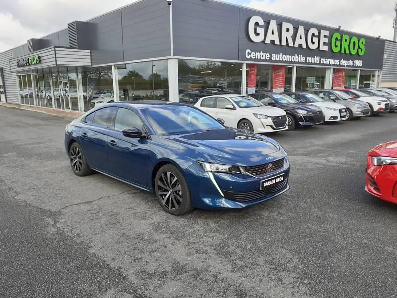 Voir la photo n°1 de la voiture d'occasion PEUGEOT 508 — BlueHDi 160 ch S&S EAT8 GT Line