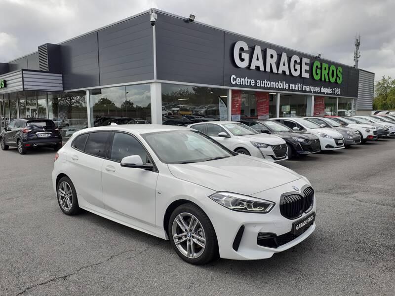 Voir la photo n°1 de la voiture d'occasion BMW SERIE 1 F40 — 118i 140 ch DKG7 M Sport