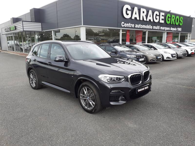 Voir la photo n°1 de la voiture d'occasion BMW X3 G01 — xDrive20d 190ch BVA8 M Sport