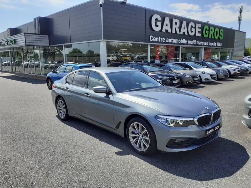 Voir la photo n°1 de la voiture d'occasion BMW SERIE 5 G30 — 520d 190 ch BVA8 Sport